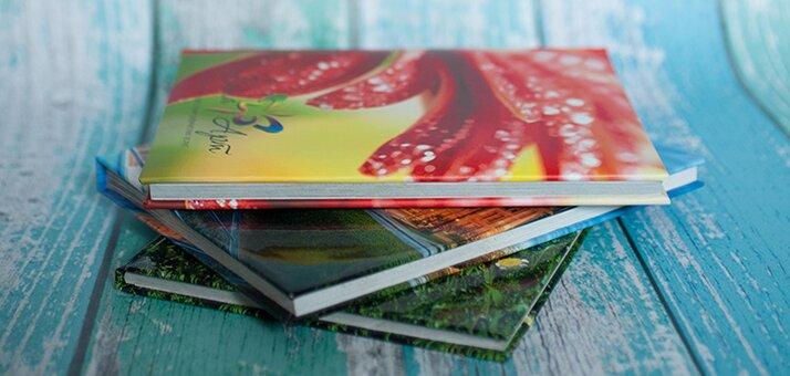 Печать фотокниг на 24 страницы от 175 грн