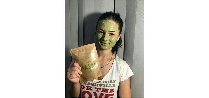 Скидка 30% на Anti-aging Matcha Mask