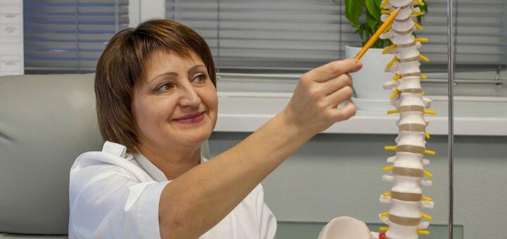 Курс восстановления позвоночника с антицеллюлитным массажем в центре «Newspine»
