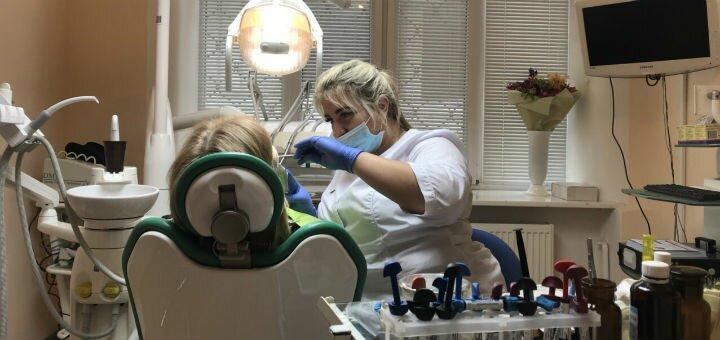 Ультразвуковая чистка зубов в сети стоматологических клиник «Жемчуг»