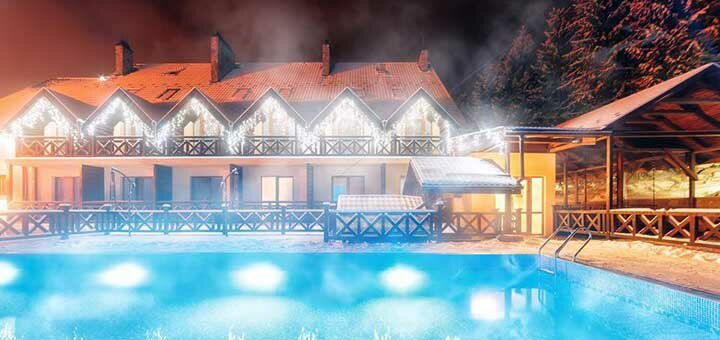 От 3 дней SPA-отдыха с завтраками в отельно-оздоровительном комплексе «Рубель» в Яремче