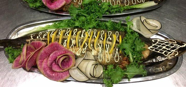 Скидка 20% на все меню кухни и бара в ресторане «Ани»