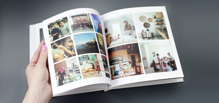 Скидка 20% на фотокнигу Инстабук 20х20 от 20 до 120 фотографий