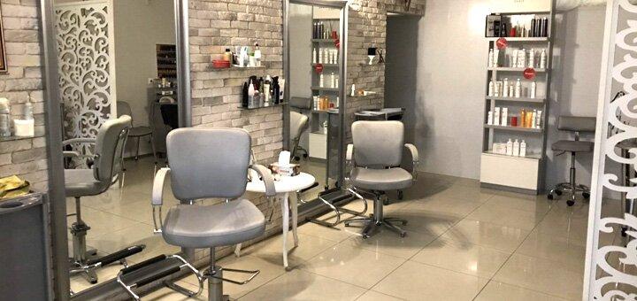 Мужская стрижка, укладка, коррекция бороды и камуфлирование седины в салоне «Go Studio»
