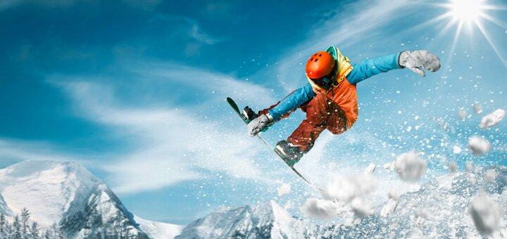 Скидка до 50% на обучение катанию на сноуборде от компании «Active Life»