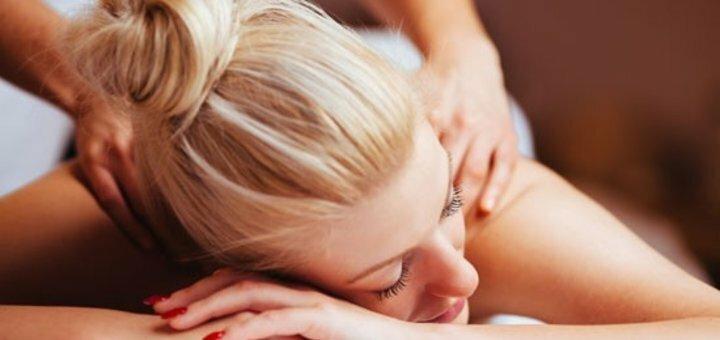 До 10 сеансов массажа спины и шейно-воротниковой зоны в кабинете красоты и здоровья