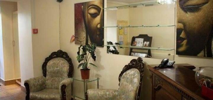 Мужской маникюр, педикюр с покрытием в салоне красоты «Savoya»
