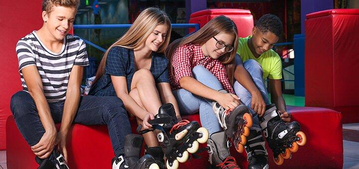 Билет на посещение роллердрома «Turbo RollerDrome» в ТРЦ «Атмосфера»