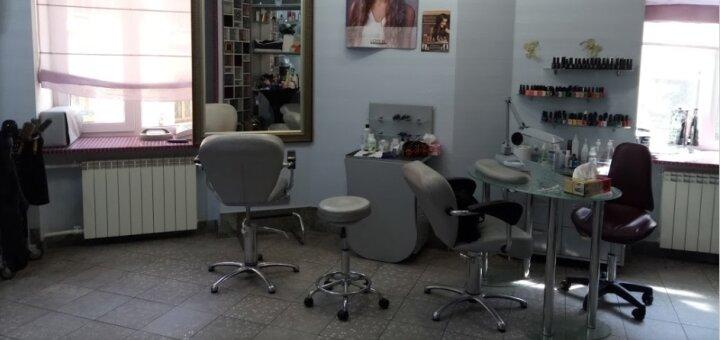 Стрижка с укладкой волос в салоне красоты «Why Not»