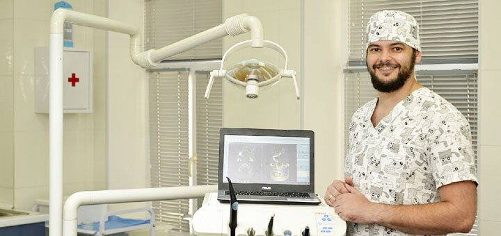 Лечение глубокого кариеса с установкой фотополимерных пломб в клинике «Твой стоматолог»