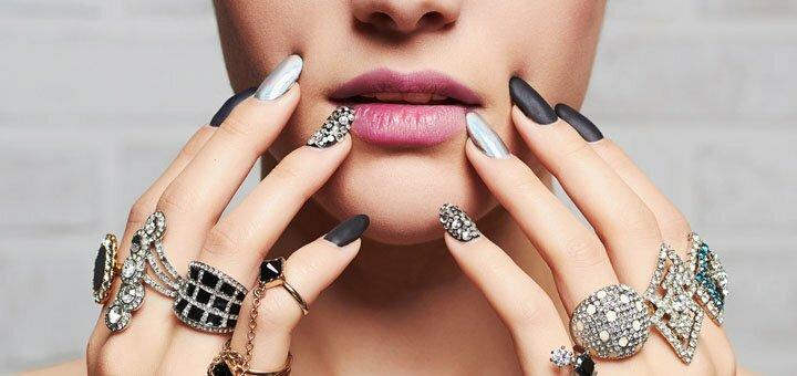 Наращивание ногтей в салоне красоты «Why Not»