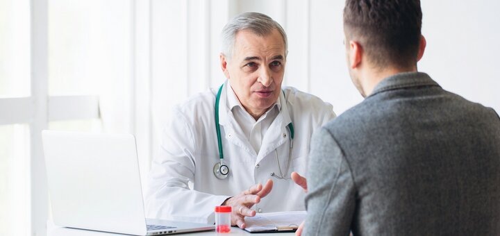УЗИ мужских грудных желез в медицинском центре «Герц»