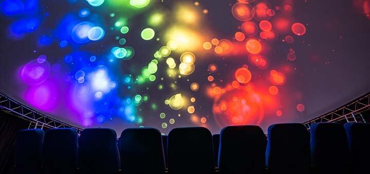 До 4 входных билетов на посещение кинотеатра будущего «Teleport360»