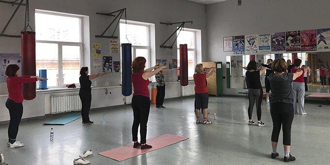 До 16 занятий оздоровительной гимнастикой ХАДУ