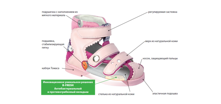 Скидка 20% на ортопедическую обувь