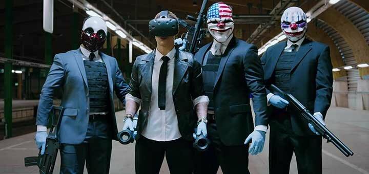 Знижка 30% на сеанс гри у будній день в шоломі HTC Vive в клубі «VR Cube»