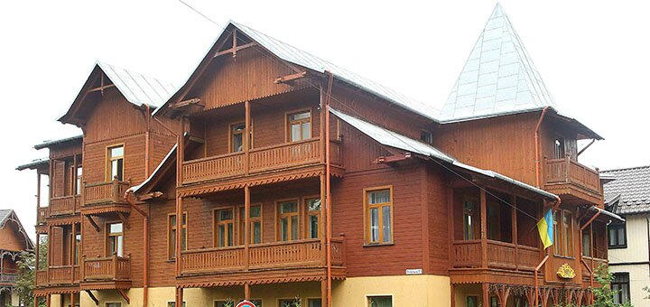 От 3 дней отдыха с трехразовым питанием в отеле «Парк» в центре Трускавца
