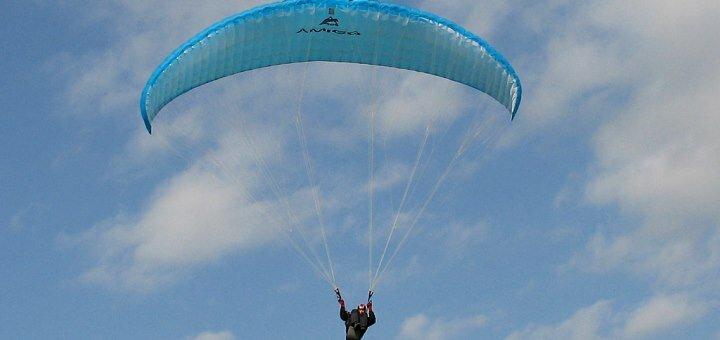 Скидка до 42% на полет на параплане от киевского экстрим-клуба «Sky Club»