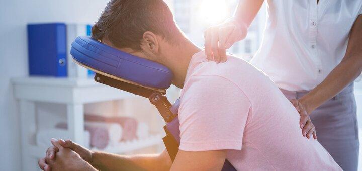 До 8 сеансов массажа спины и шейно-воротниковой зоны в массажно-реабилитационном центре «Здоровье»