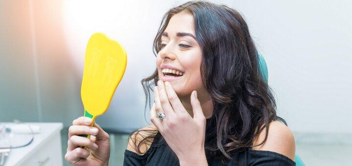 Ультразвуковая чистка зубов, Air-Flow и глубокое фторирование в стоматологии «Rocketsmile»