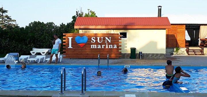 От 4 дней в мае и июне в комплексе «Sun Marina» на Арабатской стрелке на берегу Азовского моря