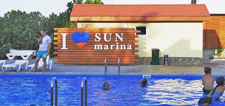 От 4 дней в июне в комплексе «Sun Marina» на Арабатской стрелке на берегу Азовского моря