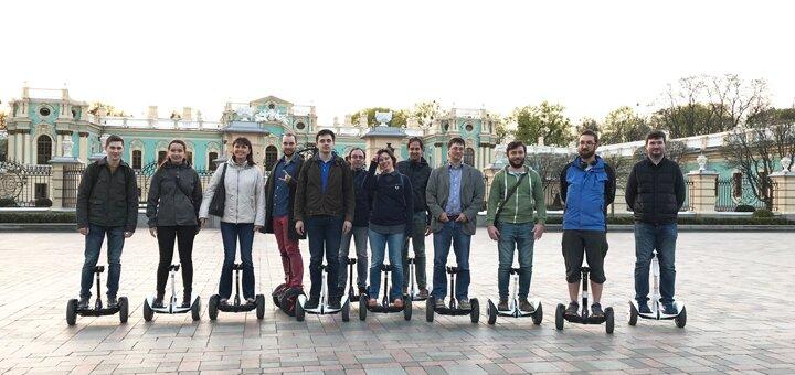 Скидка 50% на катания на гироскутерах «smart balance» или «ninebot mini» от «KyivMotion»