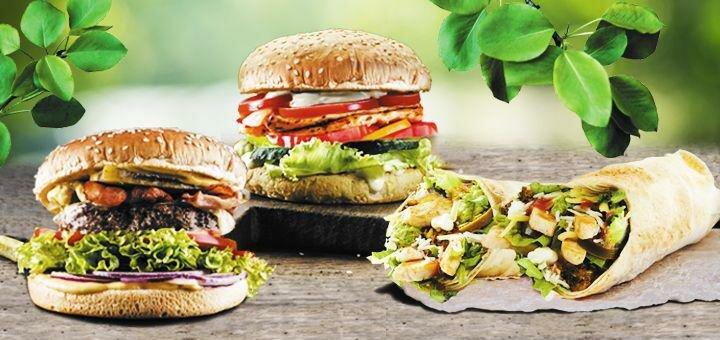 Скидка 50% на комбо-меню «Весенний сезон» от сети ресторанов «Burger Club»