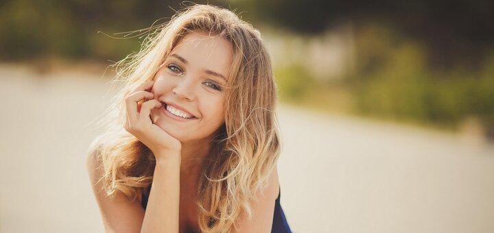 Скидка 66% на отбеливание зубов по системе «ArdeLumine» и чистку зубов в «Kristaly Dental»