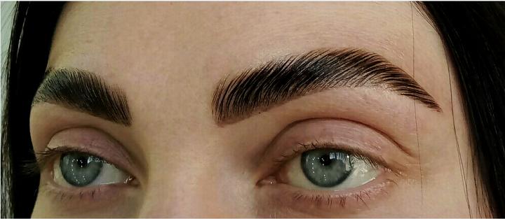 Биофиксация и окрашивание бровей от browartist Анна Хименюк в студии красоты Аллы Павленко