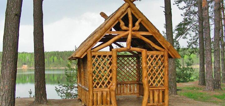 От 2 дней отдыха в усадьбе Софии Русовой в эко-комплексе «Голубые озера» под Черниговом