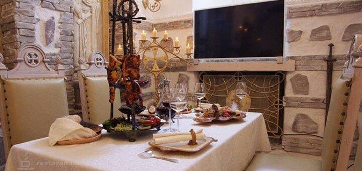 Скидка 30% на все меню кухни в ресторане «Княжий Град»