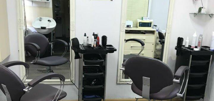 Стрижка, укладка и полировка волос в салоне красоты «Ваниль»