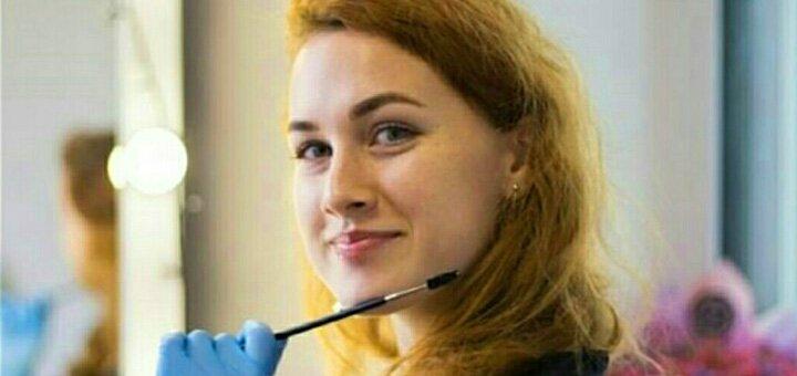 Моделирование и окрашивание бровей от browartist Анна Хименюк в студии красоты Аллы Павленко
