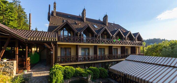 От 3 дней отдыха с пакетом услуг в отеле «Рубель&ресторан Hutsul» в Яремче