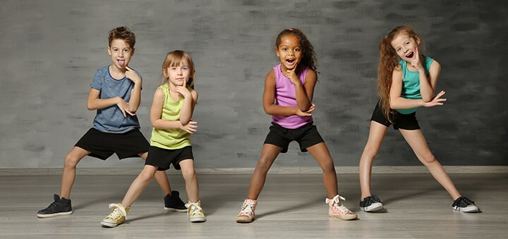 До 3 месяцев занятий современной хореографией для детей в танцевальном центре «Step UP»