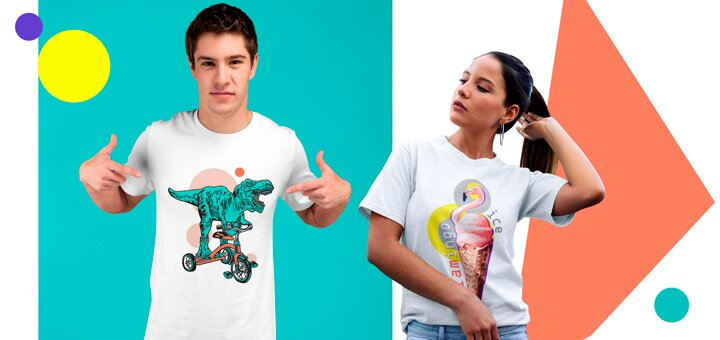 Скидка 20% на мужские и женские футболки!