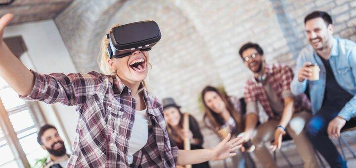 Скидка 50% на игры в клубе виртуальной реальности «Hype» от проекта «Аномалия»