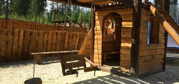От 4 дней отдыха в экологичных теплых домах из дикого бруса с питанием в «Drin-Lux» в Славском