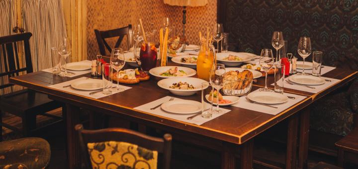 Сертификаты на ужин или банкет в ресторане итальянской кухни «Оливка»