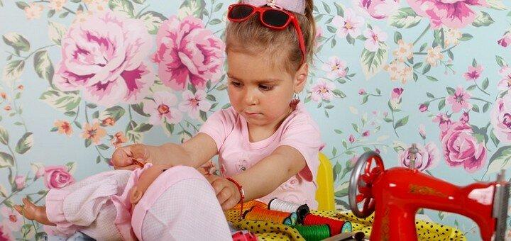Студийная или выездная детская фотосессия от детской арт‐фотостудии «Photokids»