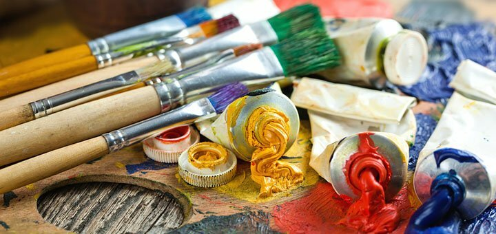 До 4 занятий масляной живописью в творческой мастерской «2&2»