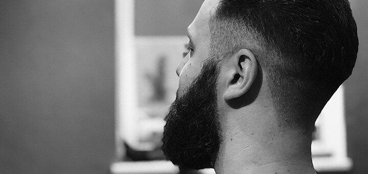 Мужская стрижка, укладка, коррекция бороды и камуфлирование седины в «BRONE Barbershop»