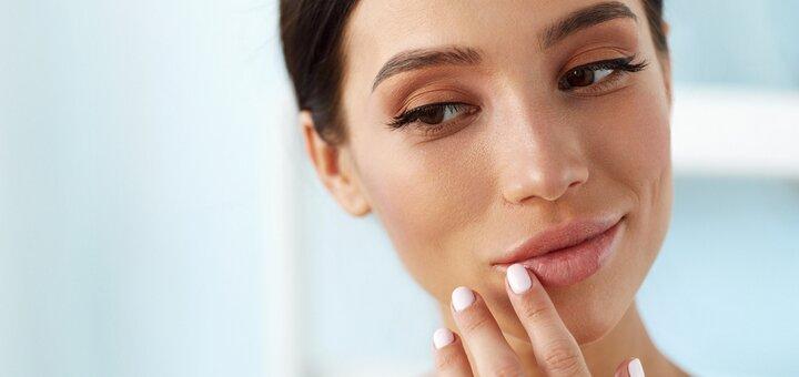 Скидка до 41% на увеличение губ филлером Apriline c консультацией косметолога в «Happy Day»