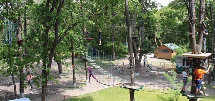 Комплекс развлечений в веревочном парке «S-Park»