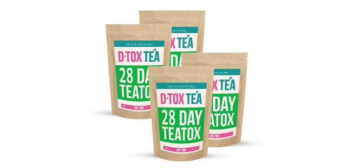 Скидка 20% на Детокс Чай