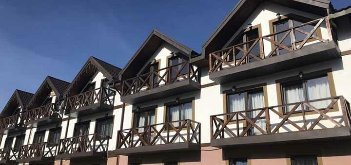 От 2 дней отдыха на майские праздники в отеле «Салют» в Буковеле