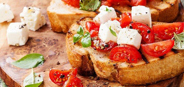 Скидка 40% на все основное меню кухни и бара в ресторане «Al-dente»