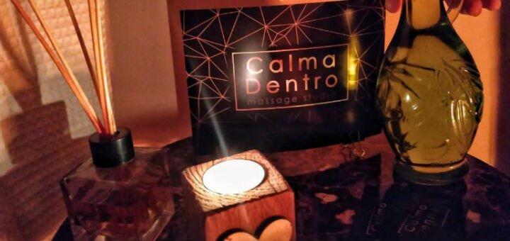 До 5 сеансов маcсажа спины или шейно-воротниковой зоны в студии массажа «Calma Dentro»