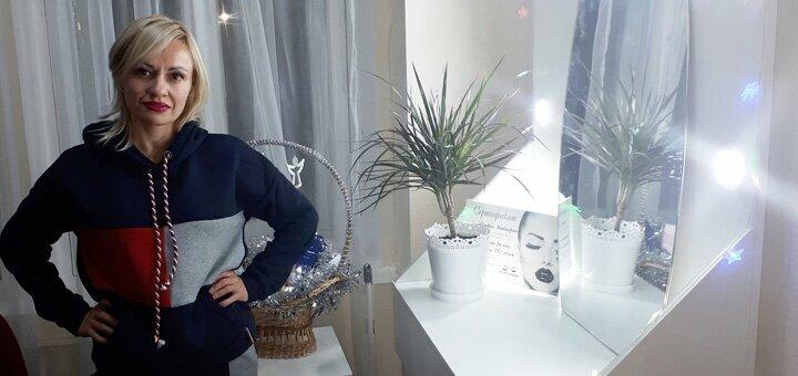 Классическое и 2D наращивание ресниц в студии красоты Виктории Литвинчик